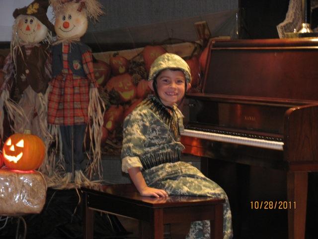 Eli at piano